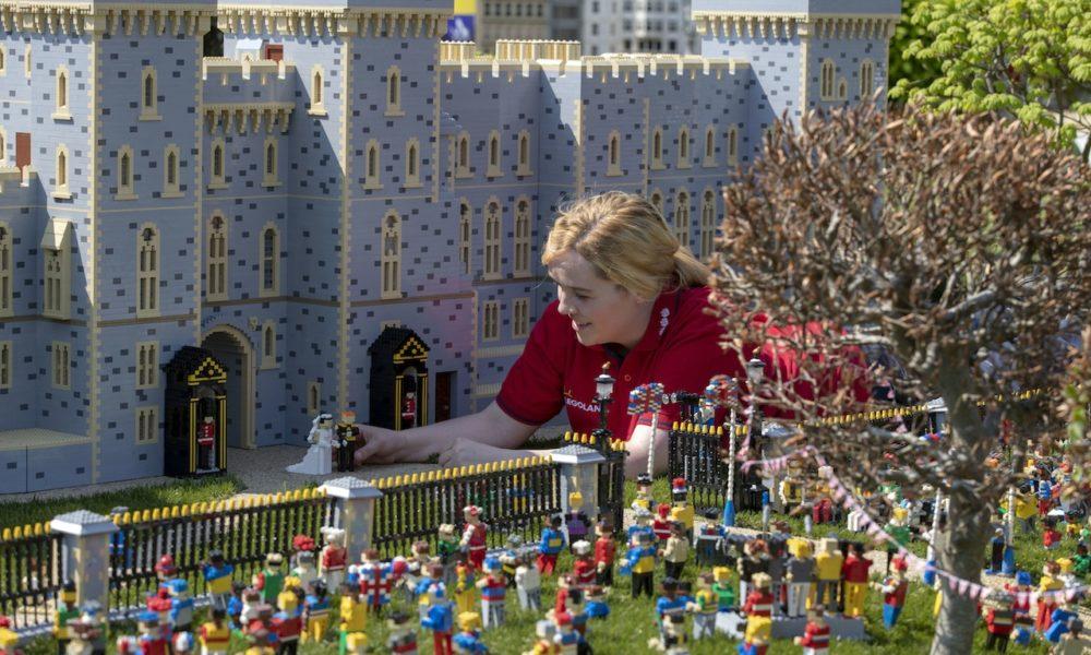Ο γάμος του Χάρι και της Μέγκαν με… 60.000 Lego