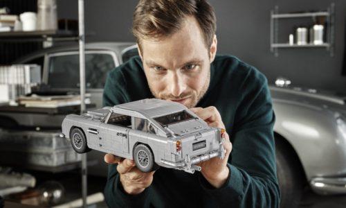 H Aston Martin DB5 του James Bond από τη LEGO